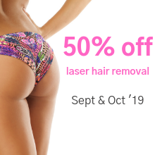 Laser Hair Removal - Sept & Oct 19